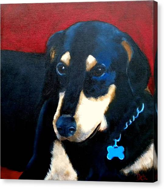 Remembering Doby Canvas Print