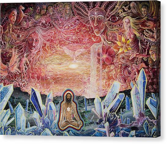 Remembering Canvas Print by Matthew Fredricey