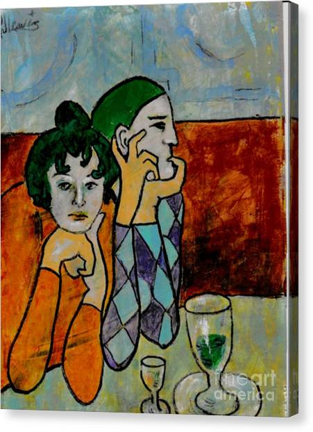 Remembering Picasso Canvas Print