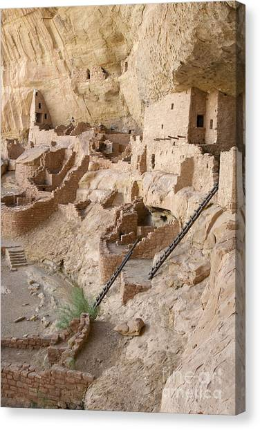 Remnants Of Civilization Canvas Print