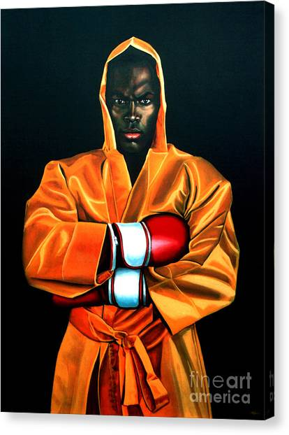 Boxing Canvas Print - Remy Bonjasky by Paul Meijering