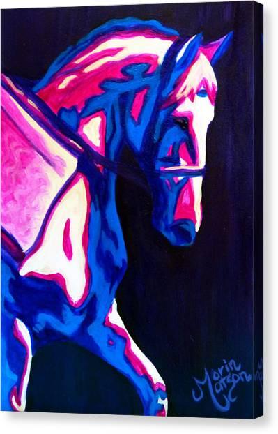 Renaissance Horse Canvas Print