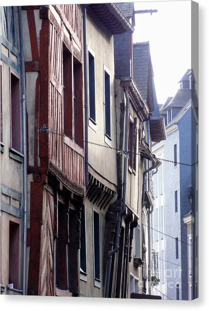 Rennes France 2 Canvas Print