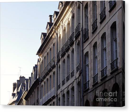 Rennes France 3 Canvas Print