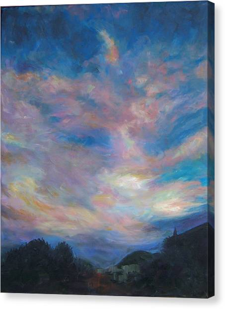 Reno Sky 1 Canvas Print by Susan Moore