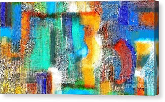 Repercussions Canvas Print by D Perry