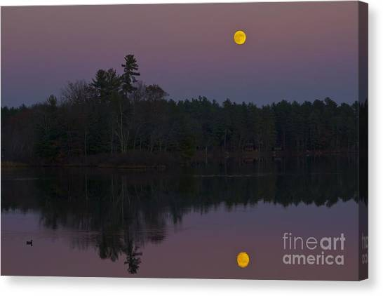 Replacing The Sunset II Canvas Print