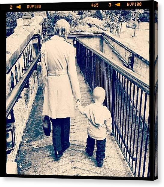Grandma Canvas Print - Reported From A While Ago, My Little by Jamie Hewison