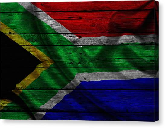 Republic Of South Africa Canvas Print - Republic Of South Africa by Joe Hamilton
