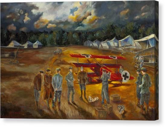 Requiem Of Flight Canvas Print