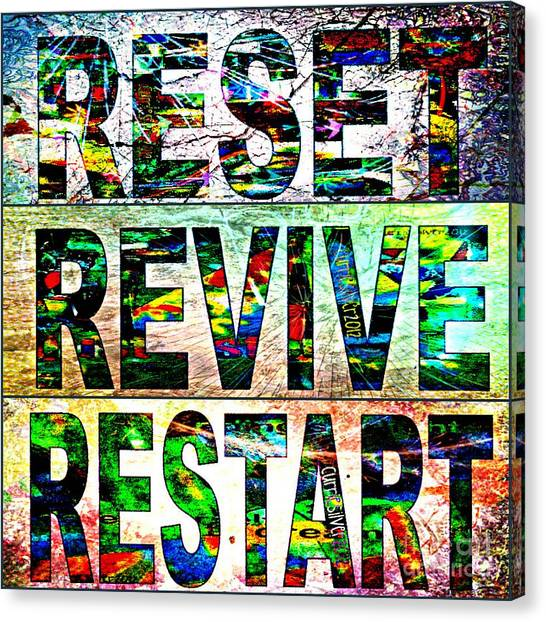 Rerere 2012 Canvas Print by Currie Silver