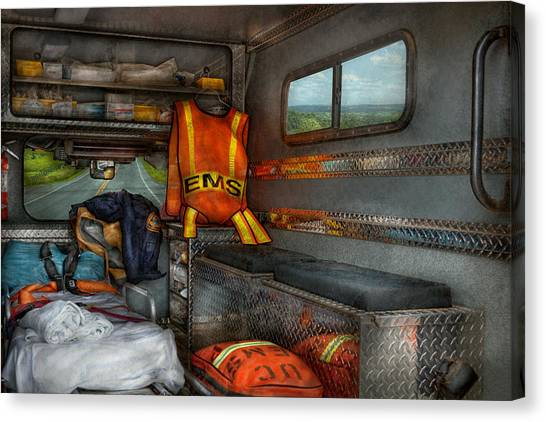 Rescue - Emergency Squad  Canvas Print