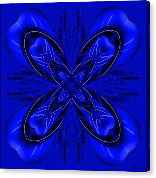 Resist The Flow 11 Canvas Print