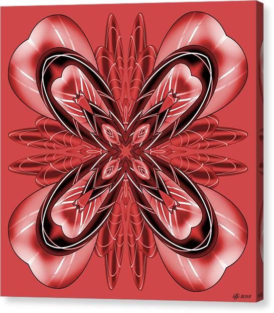 Resist The Flow 9 Canvas Print