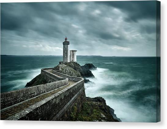 Ocean Cliffs Canvas Print - Resistance by