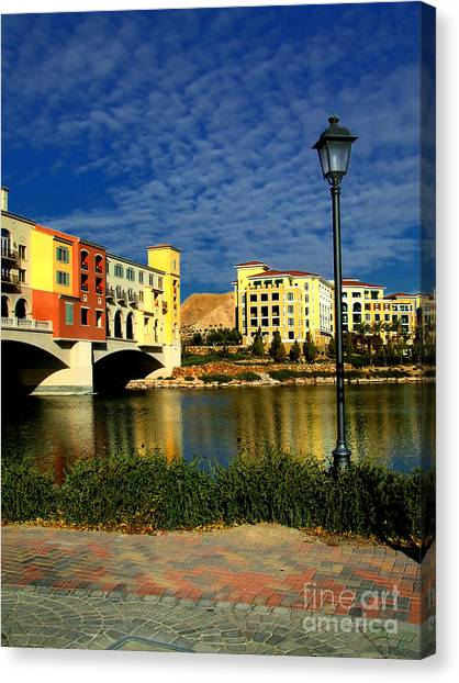 Resort In Henderson Nevada Canvas Print
