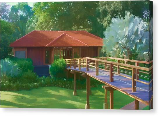 Resort Spa Canvas Print
