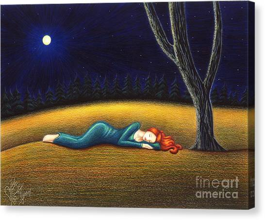 Rest For A Weary Heart Canvas Print