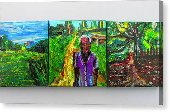 Rest In Peace - Uncle Momoh Canvas Print