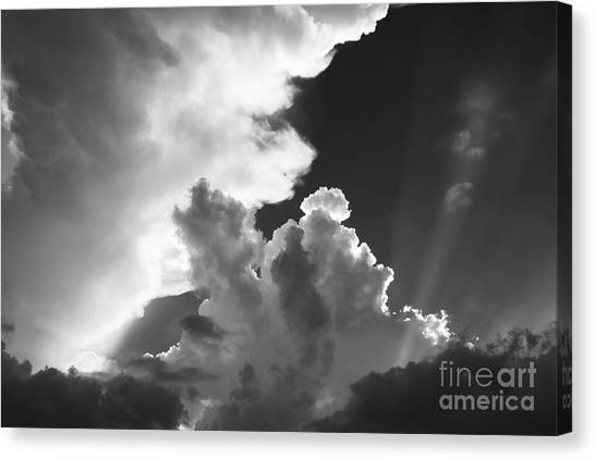 Restless Atmosphere Canvas Print