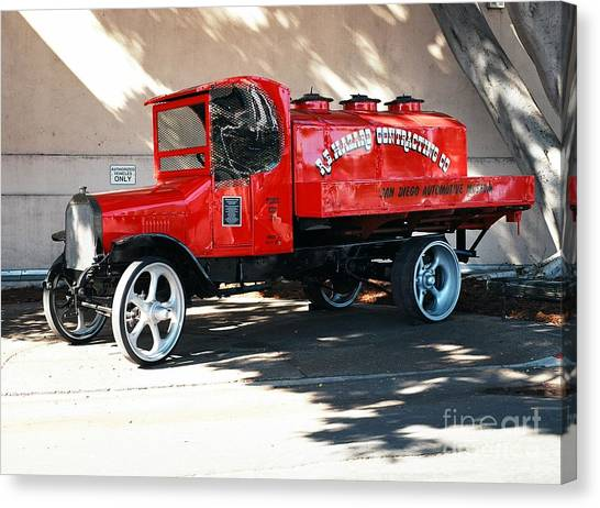 Restored 1922 Mack Truck Canvas Print