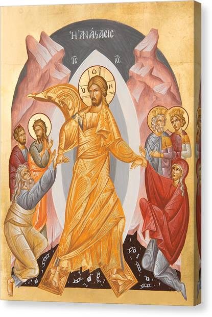 Canvas Print - Resurrection Of Christ by Julia Bridget Hayes