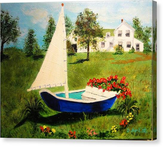 Retired In Cape Cod Canvas Print