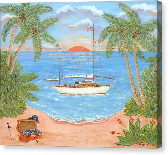 Retired Pirate Canvas Print
