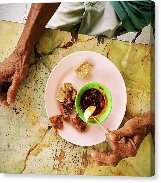 Georgetown University Canvas Print - Retiree's Breakfast. Lor Bak, Deep by David  Hagerman