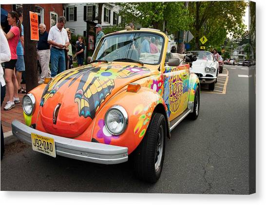 Retro Bug Canvas Print