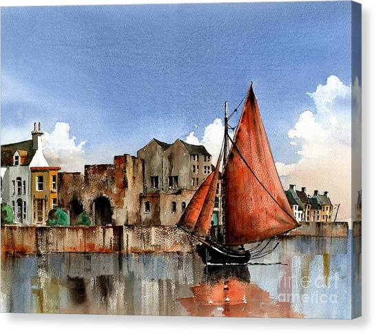 Galway Returning Home   Canvas Print