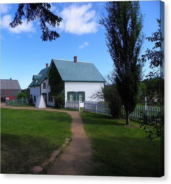 Returning To Green Gables Canvas Print