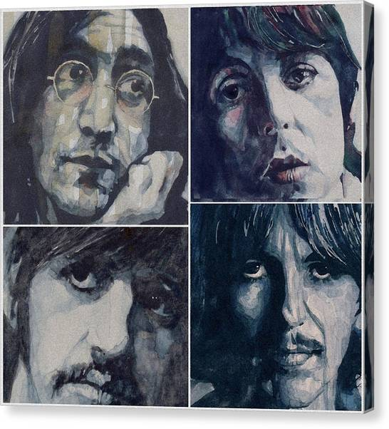 The Beatles Canvas Print - Reunion by Paul Lovering