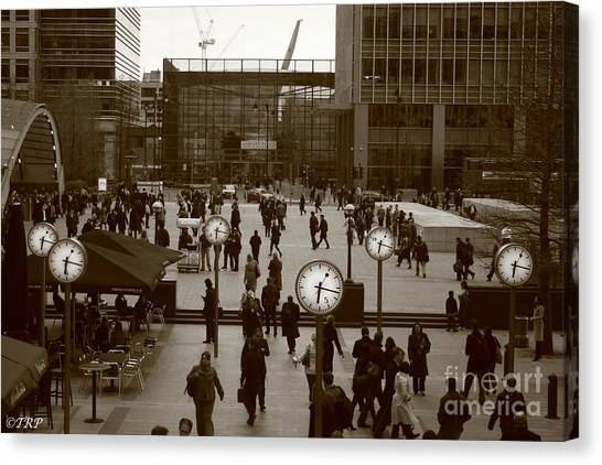 Reuters Plaza  Canvas Print by Size X