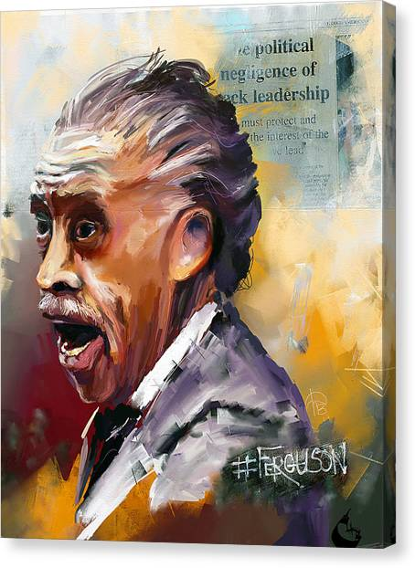 Rev Al Canvas Print