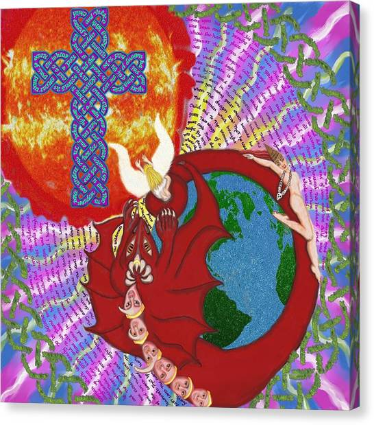 Revelation 12 Canvas Print