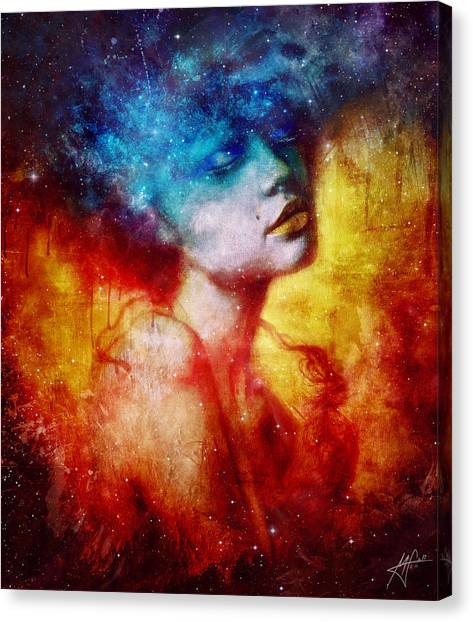 Nirvana Canvas Print - Revelation by Mario Sanchez Nevado