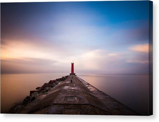 Lighthouses Canvas Print - Revelations by Daniel Chen