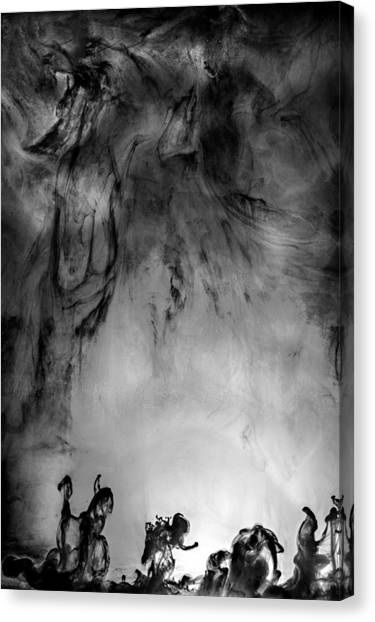 Revolution Canvas Print by Petros Yiannakas