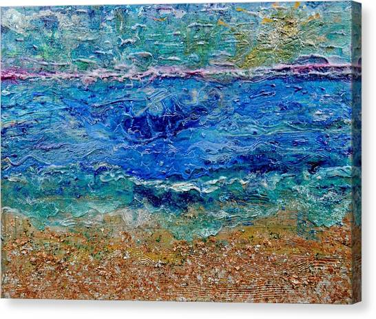 Rhapsody On The Sea  Canvas Print