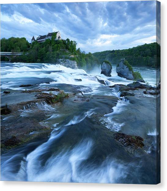 Rhine Falls - Europes Largest Waterfall Canvas Print