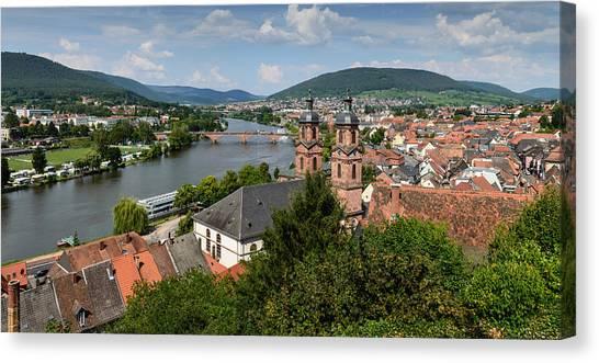 Rhine River Canvas Print