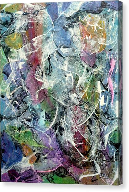 Madonna Col Bambino Canvas Print