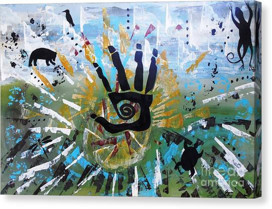 Rhythm Of Life Canvas Print