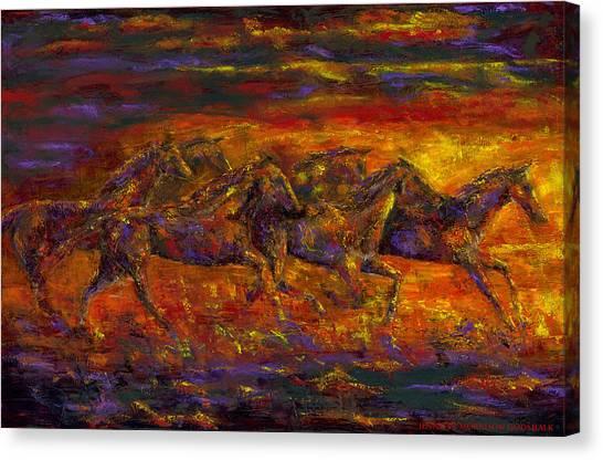 Rhythm Of The West Canvas Print