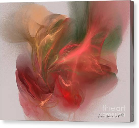 Rhythmical Dance Canvas Print by Leona Arsenault