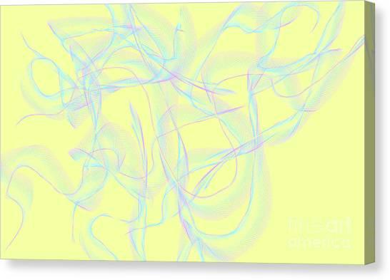Ribbons Canvas Print by Lali Kacharava