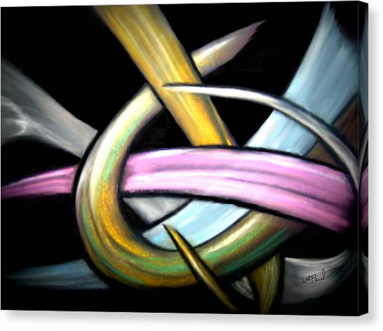 Ribbons Canvas Print by William  Paul Marlette