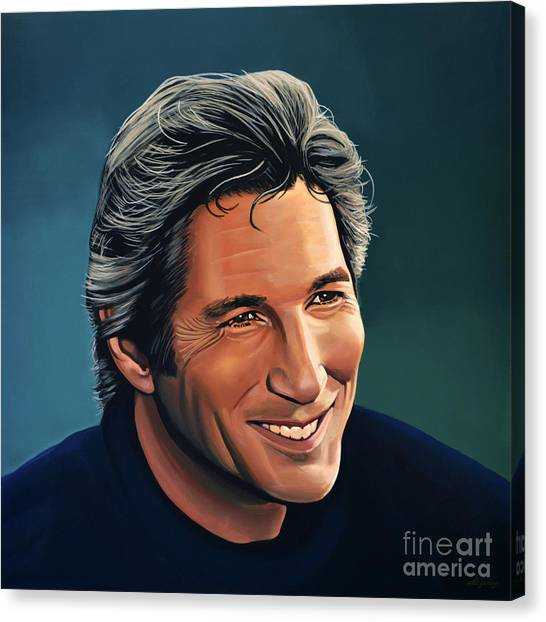 Bride Canvas Print - Richard Gere by Paul Meijering