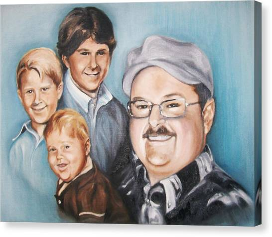 Richard Growing Up Canvas Print